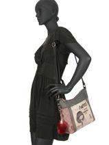 Cross Body Tas Couture Anekke Beige couture 29882-07-vue-porte