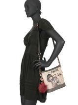 Cross Body Tas Couture Anekke Beige couture 29882-55-vue-porte
