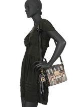 Cross Body Tas Couture Anekke Zwart couture 29882-70-vue-porte