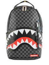 "Rugzak Sharks In Paris Met 15"" Laptopvak Sprayground Grijs ultimate edition 910B"