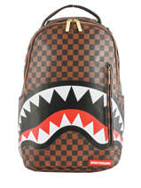 "Rugzak Sharks In Paris Met 15"" Laptopvak Sprayground ultimate edition 910B"