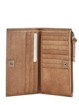 Portefeuille Leder Biba Bruin accessoires VAW2L-vue-porte