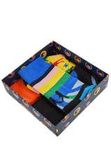 Cadeauset Sokken The Beatles 3 Paar Happy socks Veelkleurig pack XBEA08
