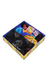 Cadeaukoffer Happy socks Veelkleurig pack XRLS08