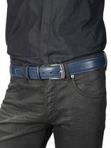 Verstelbare Herenriem Extra Petit prix cuir Blauw extra 290-40-vue-porte