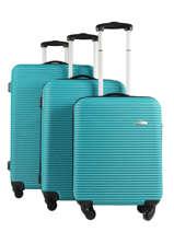 Set Reiskoffers Madrid Travel Blauw madrid 1701-LOT