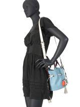 Bucket Bag S Premier Flirt Leder Lancel Veelkleurig premier flirt A10530-vue-porte