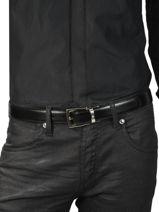 Verstelbare Herenriem Leder Montblanc Zwart belts EMILIE-vue-porte