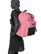 Rugzak Pinnacle Eastpak Roze authentic K060-vue-porte