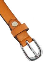 Verstelbare Damesriem Leder Petit prix cuir Bruin classic CW802642-vue-porte
