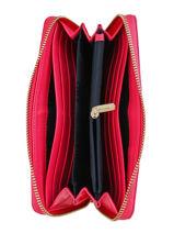 Portefeuille Tommy hilfiger Roze classic saffiano AW07843-vue-porte
