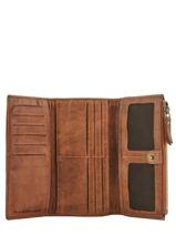 Portefeuille Heritage Leder Biba Bruin accessoires POR4L-vue-porte