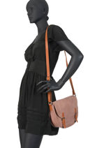 Cross Body Tas Brown Miniprix Roze brown H6770-vue-porte