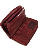 Portefeuille Leder Biba Rood accessoires BT10-vue-porte