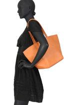 Shoppingtas Calvi Miniprix Oranje calvi 97342B-vue-porte