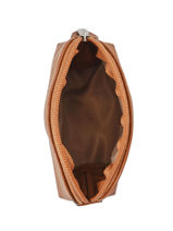 Portemonnee Confort Leder Hexagona Bruin confort 460597-vue-porte