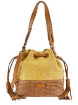 Bucket Bag Ibiza Torrow Geel ibiza TIBI02