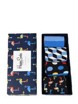 Cadeaukoffer Happy socks Zwart pack XNAV09