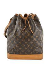 Preloved Louis Vuitton Bucket Bag Noe Gm Monogram Brand connection Bruin louis vuitton 152
