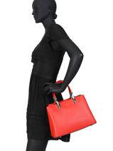 Handtas Couture Miniprix Rood couture DQ8572-vue-porte