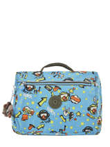 Boekentas 1 Compartiment Kipling Blauw back to school 13571