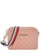 Cross Body Tas Iconic Tommy Tommy hilfiger Oranje iconic tommy AW07945