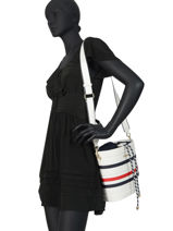 Cross Body Tas Tommy Staple Tommy hilfiger Wit tommy staple AW08310-vue-porte