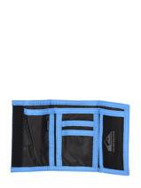 Portefeuille Met Velcro Strip Quiksilver Blauw youth access QYAA3963-vue-porte