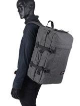 Reistas Rugzak Transverz Eastpak Zwart authentic luggage K13E-vue-porte