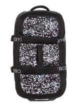Soepele Reiskoffer Luggage Neoprene Roxy Zwart luggage neoprene RJBL3202