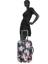 Handbagage Roxy Zwart luggage RJBL3207-vue-porte
