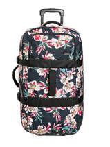 Soepele Reiskoffer Luggage Roxy Zwart luggage RJBL3213