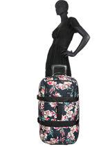 Soepele Reiskoffer Luggage Roxy Zwart luggage RJBL3213-vue-porte