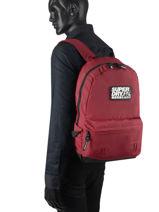 Rugzak 1 Compartiment Superdry backpack men M9110057-vue-porte