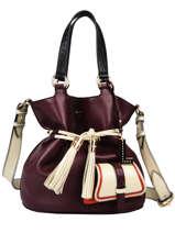 Bucket Bag M Premier Flirt Leder Lancel Violet premier flirt A10531