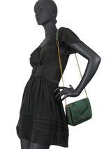 Cross Body Tas Vintage Leder Vintage Leder Nat et nin vintage CAPRI-vue-porte