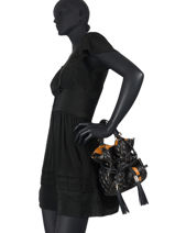 Bucket Bag S Premier Flirt Matelassé Leder Lancel Zwart premier flirt A11138-vue-porte