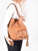 Bucket Bag L Premier Flirt Leder Lancel premier flirt A10924-vue-porte