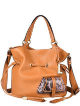 Bucket Bag M Premier Flirt Python Leder Lancel premier flirt A10529