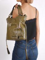 Bucket Bag M Premier Flirt Lancel premier flirt A10110-vue-porte