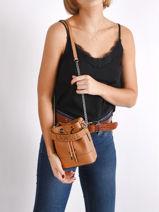 Mini Bucket Bag Ninon Leder Lancel ninon A11466-vue-porte