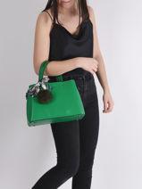 Handtas Sable Leder Miniprix Groen sable DQ815-vue-porte