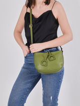 Cross Body Tas Tradition Leder Etrier Groen tradition EHER3A-vue-porte