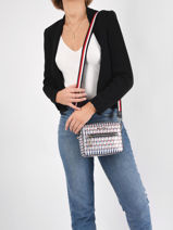 Cross Body Tas Iconic Tommy Tommy hilfiger iconic tommy AW10035-vue-porte