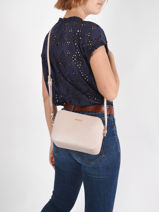 Cross Body Tas Manhattan Liu jo Goud manhattan AA1174-vue-porte