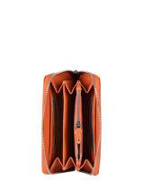 Portefeuille Caviar Leder Crinkles Oranje caviar 14256-vue-porte