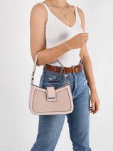Schoudertas Couture Miniprix Roze couture YY65002-vue-porte