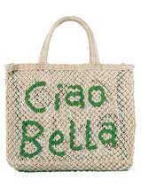 "Shoppingtas ""ciao Bella"" Van Jute The jacksons word bag CIAOBE"