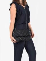 Cross Body Tas Coco Miniprix Zwart couture R1575-vue-porte