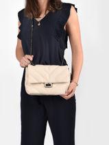 Cross Body Tas Coco Miniprix Wit coco R1575-vue-porte